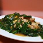中華めんくい - 料理写真:ニラ肉玉子