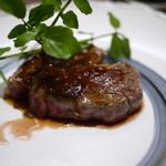ほほえみの宿 滝の湯 - 料理写真:牛肩ロースステーキ