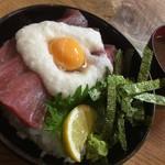 谷町 一味禅 - マグロ山かけ丼(¥900)