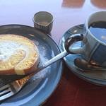 五十鈴川カフェ - 和三盆と白豆のくるり ブレンドコーヒー