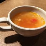 パティスリー&カフェ デリーモ - ランチスープ