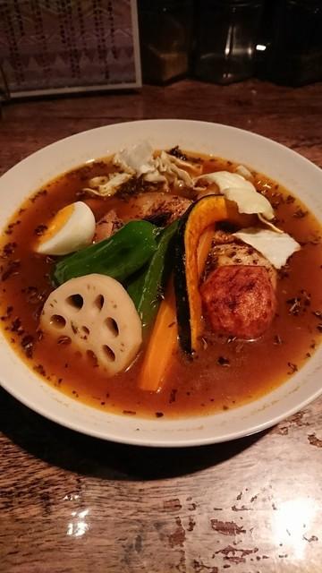 SoupCurry ATMAN - チキンと8種野菜 スワディスターナ35