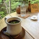 カフェ せせらぎ - ホットコーヒー