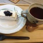 カフェ せせらぎ - ケーキセット