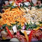koreAn diNing GOMAmura - 【チーズタッカルビ(プルナク)コース】限定!辛いトマトソースとゴロゴロ野菜の激ウマ【ラタトゥイユチーズタッカルビ(プルナク)】