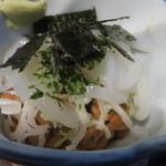 ふくべ - イカ納豆