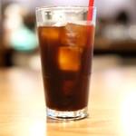 Gin Khao - ギンカーオランチ 1100円 のアイスコーヒー