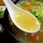 恵泉 - 独特な風味の塩スープ!
