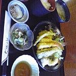 あじ城 - てんぷら定食840円