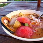 野菜料理とスープカレーのお店 南葉亭 - 料理写真:まるごとトマトのスープカレー