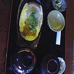 あじ城 - 豚カツとじ定食840円