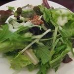 ハイヴカフェ - ランチセットのサラダ