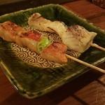 maru 2F - マナガツオ、金目鯛 串