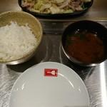 お好み焼き ホルモン&鉄板料理 喜多郎 - 豚鉄板 ¥780