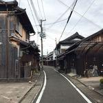 和 dining 清乃 - 湯浅の街並み