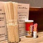 和 dining 清乃 - 卓上調味料はスープのみ