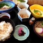 レストラン リビエラ - 料理写真:麦とろ御膳