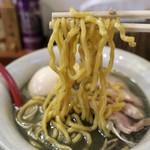 麺屋大河 - 「黒味噌らーめん」(800円)+「お得盛り」(350円)