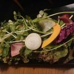 samugyopusarutoyasaiifuu - 野菜18種 食べ放題。