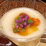 竹屋町 三多 - 料理写真:新じゃが芋と雲丹