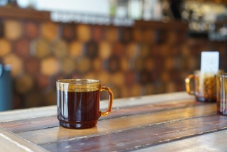 アンリミテッド コーヒー バー - エチオピア アリチャ ハンドドリップで¥600