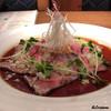 あぶり肉 がらん - 料理写真:能登プレミアム牛のユッケ風ローストビーフ