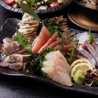 【産地直送】産地直送!!鮮魚使用!刺身盛り合わせ