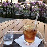 しの笛茶房 - アイスレモンティー