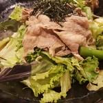 肉炉端 弁慶 - しゃぶしゃぶサラダ