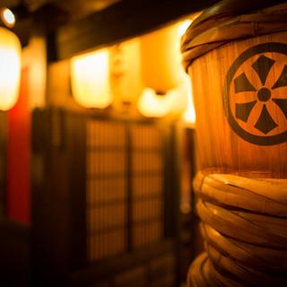 九州の酒蔵をイメージした和モダンな空間設計