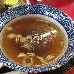 がんこ一番 - 醤油らーめんと同じスープ