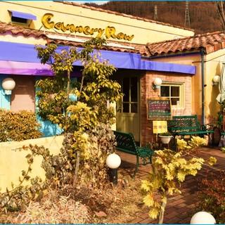 オリーブの木や花々に囲まれた自然豊かなお店を目指しています♪