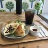 cafe yom pan - 料理写真:今日は、お豆さんとツナサラダのフォカッチャサンドモーニングです(2018.4.20)