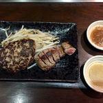 鉄板Diner JAKEN - MIXセット柔らかステーキ