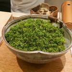 日本料理 太月 - 花山椒たっぷり