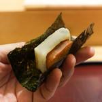 日本料理 太月 - からすみ餅