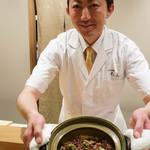 日本料理 太月 - ホタルイカご飯