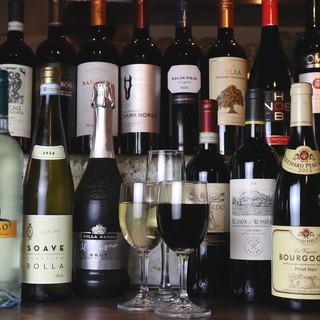 この味でこの値段!?きっと驚く高コスパの種類豊富なワイン達☆