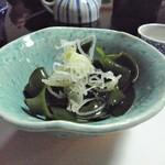 鮨一八 - 春先の「めかぶ」は本当に美味い