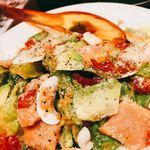 グッドミート・バル - アボカド、パンチェッタのグリーンサラダ