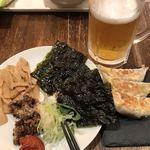 晴天の風 - 晴天ちょい呑みセット980円