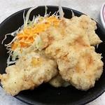 餃子の王将 - 鶏の唐揚(ジャストサイズメニュー)324円