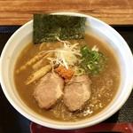 札幌鮭ラーメン麺匠 赤松 - 鮭DOROラーメンです。