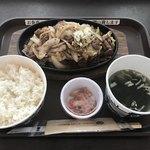 韓国料理 ミス コリア - プルコギ定食(1,200円)