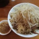 もみじ屋 - 料理写真:汁なし800円 ※ニンニク少し、アブラ、ヤサイ