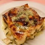 ピッツェリア・サバティーニ - 春のラザニャバジル風味