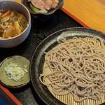 うめだ - 鴨汁蕎麥(かもじる楚者゛)