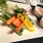 84475388 - 【'18.4】野菜スティックの明太マヨと味噌が激ウマ!!!!