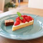 ビケット - 料理写真:イチゴのタルト☆