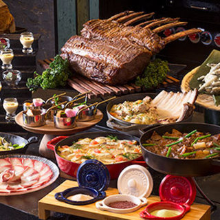 兵庫五国をはじめ、国内外選りすぐりの食材を活かした料理の数々